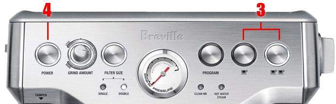 Breville BES870XL Clean Me