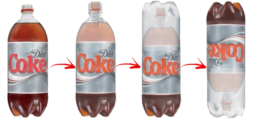 How to Build a Mentos and Diet Coke Roket - Arm Diet Coke