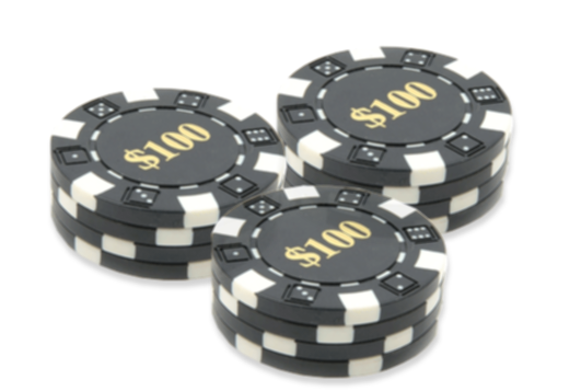 How to count cards in blackjack - Casino chips