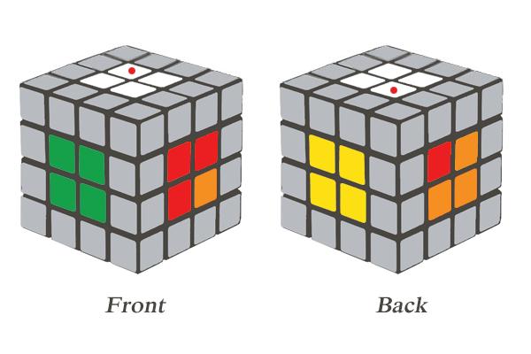 4x4 Rubik's Cube Center Block