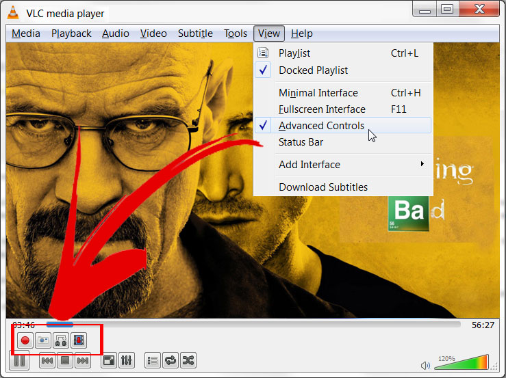 How to Cut a Video using VLC Media Player - Record