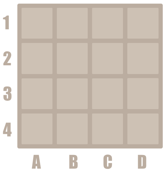 How to play 2048 - 4 by 4 grid