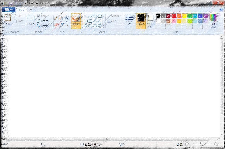 How to Take a Screenshoot on Windows - windows paint