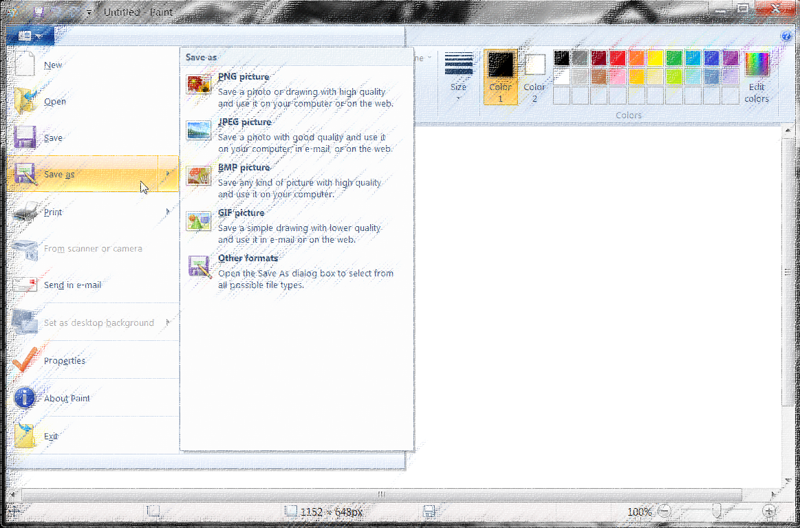 How to Take a Screenshoot on Windows - save in windows paint