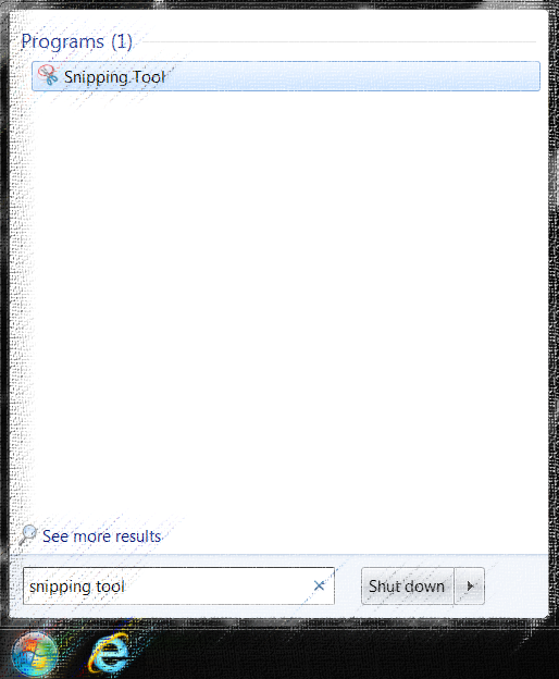 ow to Take a Screenshoot on Windows - Snipping tool
